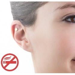Aimant Anti Tabac d'acupression (Arrêter de fumer)